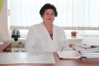Кимова Агнесса Муаедовна – заведующая, врач-ревматолог высшей квалификационной категории, Заслуженный врач КБР