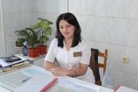 Тхагапсоева Оксана Хусейновна – старшая медицинская сестра первой квалификационной категории